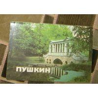 Пушкин.Музеи и парки.Проспект.1986г.