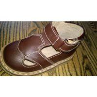 Первые сандали.Ортопедические.На туральная кожа