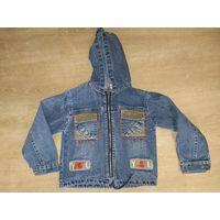 Джут джинсовая куртка примерно на 4 года