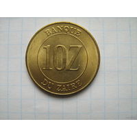 Заир 10заир1988г.