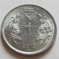 1 рупия 2012 Индия
