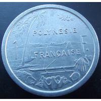 Французская Полинезия. 1 франк 1975