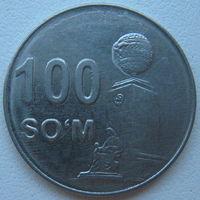 Узбекистан 100 сумов 2018 г.