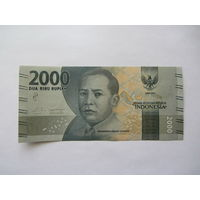 Индонезия, 2000 рупий, 2016 г.