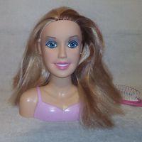 Кукла манекен для причесок Барби + подарок!