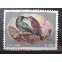 Замбия 1994 Птицы Михель-2,0 евро гаш