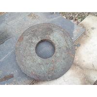 Круг шлифовальный для станка диаметр 380 мм. толщина 40 мм. внутренний диаметр 130 мм. б/у торг