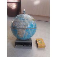 Глобус-звуковой сувенир из СССР 87 год.