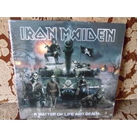 IRON MAIDEN. A matter of life and death.
