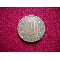 Чили 100 песо 1995 г.