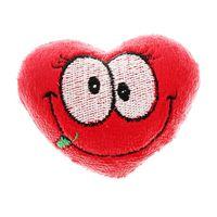 """Мягкая игрушка-магнит на холодильник """"Сердце большие глазки"""" новая в наличии"""