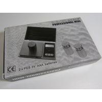 Цифровые карманные весы Professional 500г/0,1г! Новые, в Наличии!