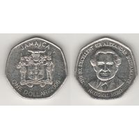 Ямайка km164 1 доллар 2006 год (al)(f15)