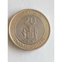 Ямайка 20 долларов 2001