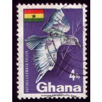 1 марка 1967 год Гана Птичка 300