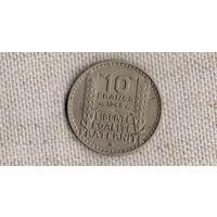 Франция 10 франков 1948 В /(JL)