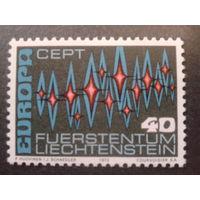 Лихтенштейн 1972 Европа полная