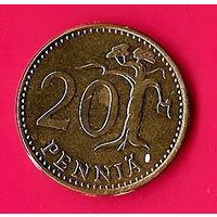38-15 Финляндия, 20 пенни 1984 г.