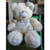 Большая музыкальная мягкая игрушка Медвежонок