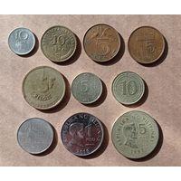 10 монет со всего мира 2