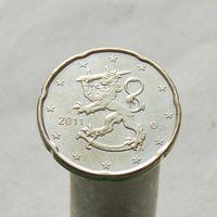 Финляндия 20 евроцентов 2011