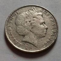 10 центов, Австралия 2007 г.
