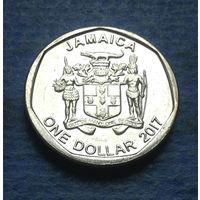 Ямайка 1 доллар 2017