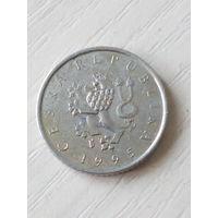 Чехия 1 крона 1995г.