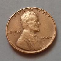 1 цент, США 1940 г.