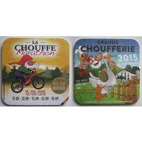 "Подставка под пиво ""La chouffe""  /Бельгия/."