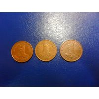 Джерси 1 пенни 1984,1994 г.г.-в наличии ОДНА монета