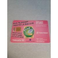 Телефонная карточка Франция