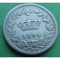 Италия. 20 чентезимо 1894.