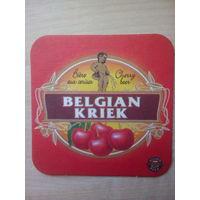 Бирдекель (подставка под пиво) Belgian Kriek/Бельгия