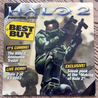 Halo 2 - Preview Disc + Other games featured - DVD