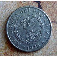 Парагвай. 1 песо 1925 г.