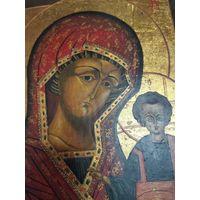 Икона, Божья матерь казанская 22 на 27 и 2.5 см