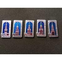 Москва башни (за все)