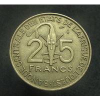 Западная Африка 25 франков 1975