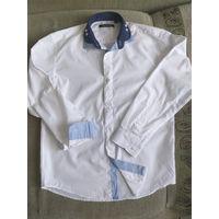 Оригинальная белая рубашка