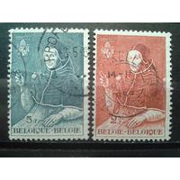 Бельгия 1959 Папа Адриан 6 - 500 лет. Живопись Полная серия