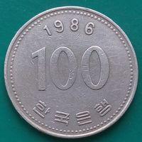 100 вон 1986 ЮЖНАЯ КОРЕЯ