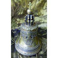 Царь-колокол, бронза, глубокое серебрение, вторая половина 19 века