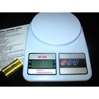 Кухонные электронные весы от 1г до 7 кг SF-400! Новые!