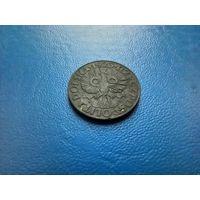 20 грошай 1923 цынк, нямецкая акупацыя / 20 грошей,  цинк, Генеральное губернаторство, оккупация