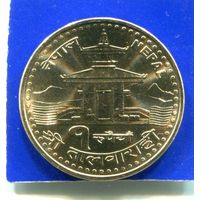 Непал 1 рупия 2005 UNC
