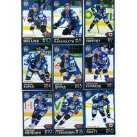 Полный сет 25 карт сезон 2011-12 года одним лотом.