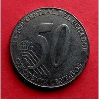 06-17 Эквадор, 50 сентаво 2000 г.
