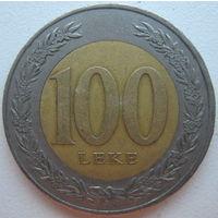 Албания 100 лек 2000 г. (d)