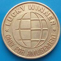 Жетон Lacky Winner-Только для развлечений
